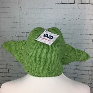 Hanna Andersson Accessories - NWT Hanna Andersson Star Wars Yoda Hat Size M
